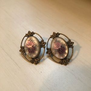 Vintage Reproduction Earrings (Edwardian Inspired)